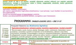 9 Corso di Biodinamica e benessere 2013