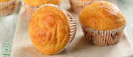 Muffin alla Batata Rossa